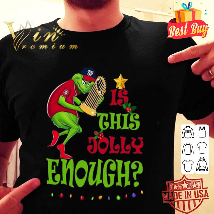 Grinch Washington Nationals Champ is this Jolly enough Christmas shirt