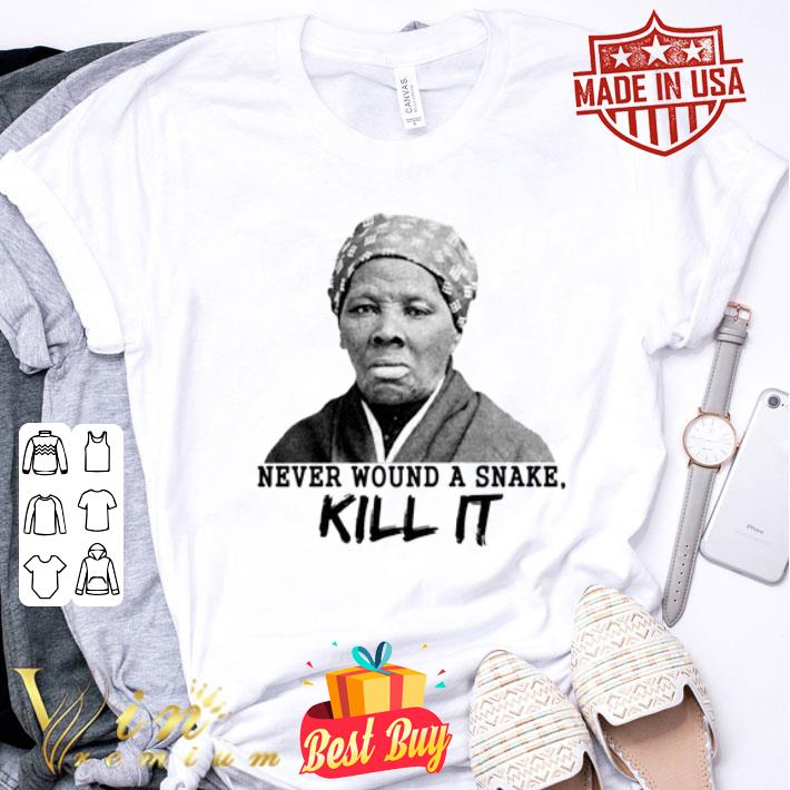 Harriet Tubman never wound a snake kill it shirt