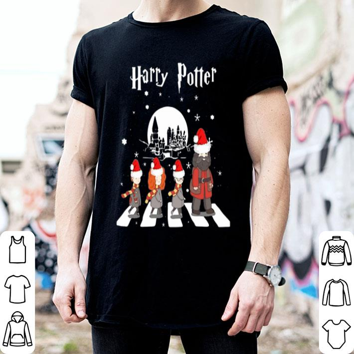 Harry Potter Abbey Road Christmas shirt