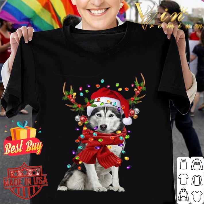 Husky Reindeer Christmas shirt