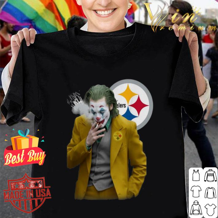 Joker Joaquin Phoenix Pittsburgh Steelers shirt