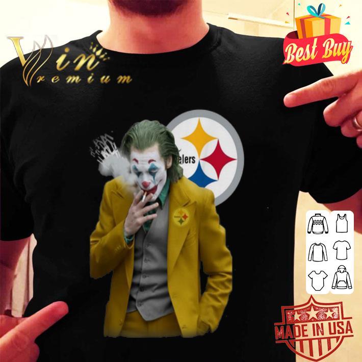 Joker Joaquin Phoenix Pittsburgh Steelers shirt