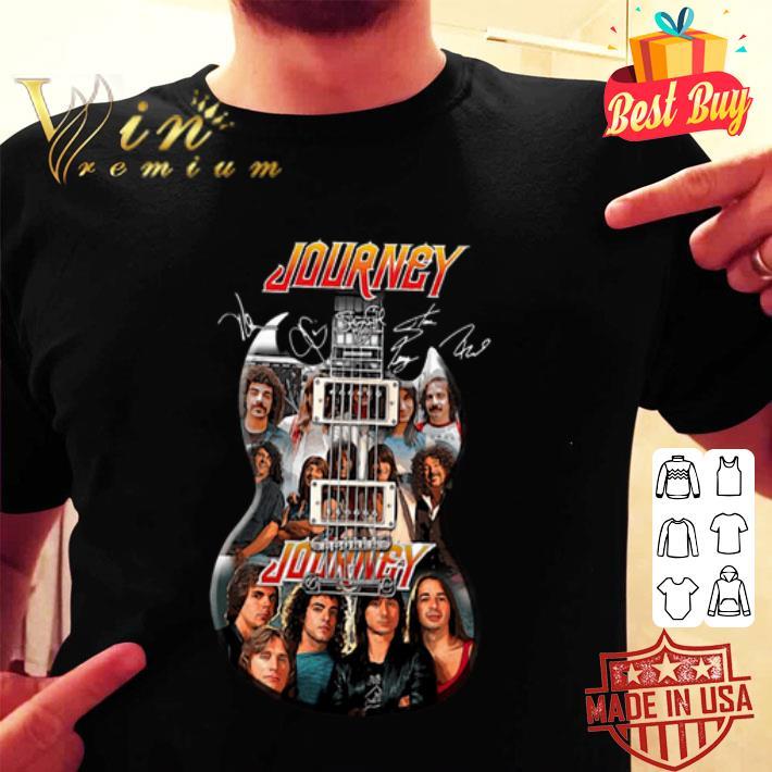 Journey Guitarist Signatures shirt