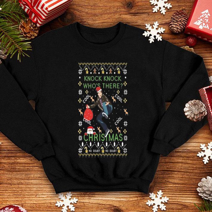 Knock Knock Who's there cool Ugly Christmas shirt