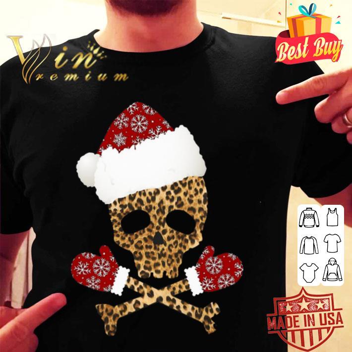 Leopard Skull Christmas shirt