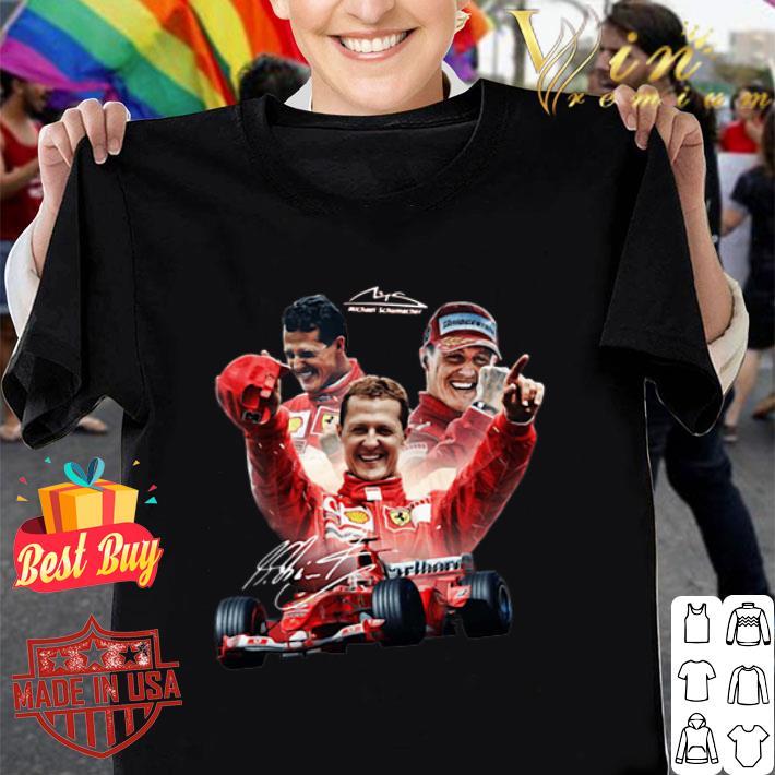 Michael Schumacher Worth Titles 2019 Signature shirt