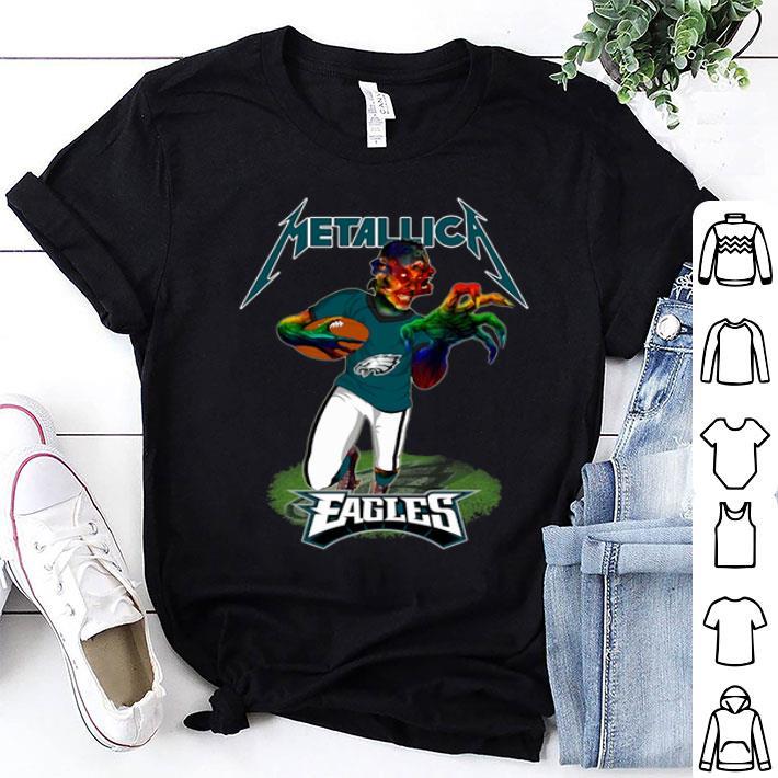 Monster Metallica Philadelphia Eagles shirt