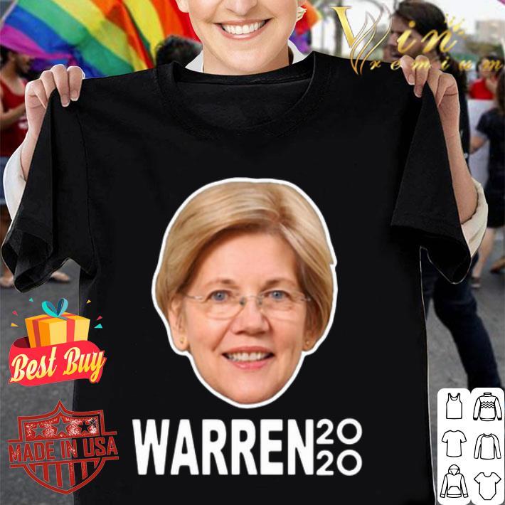 President 2020 Elizabeth Warren Face shirt