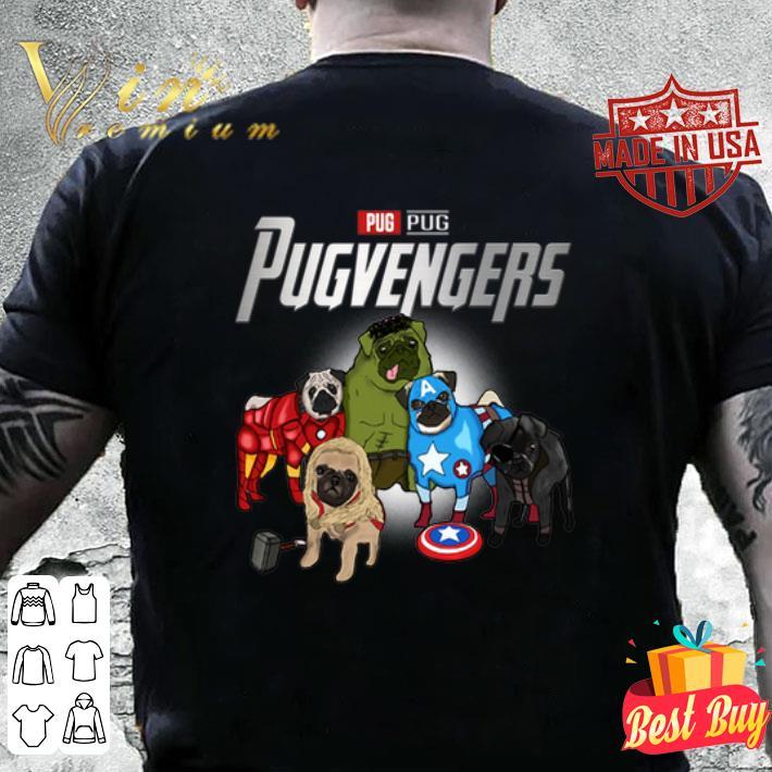 Pug Pugvengers Marvel Avengers shirt