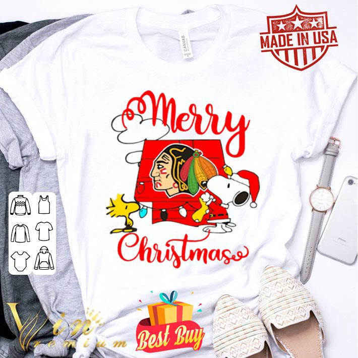 Snoopy Merry Christmas Woodstock Washington Redskins shirt