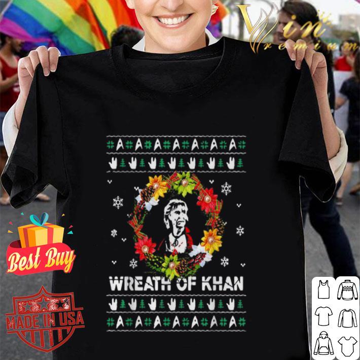 Star Trek Wreath of Khan Christmas ugly sweater