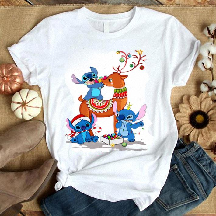 Stitch Reindeer Christmas shirt