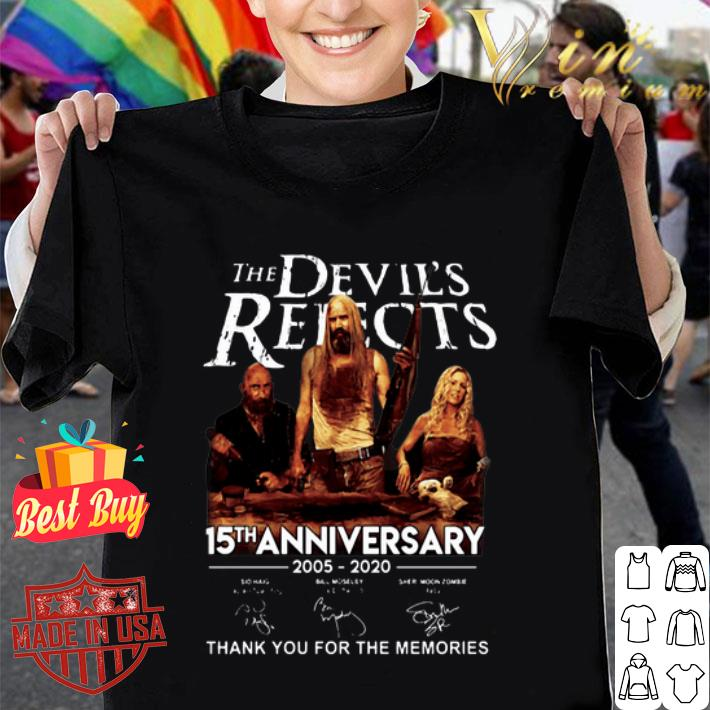 The Devil's Rejects 15th Anniversary Thank You For The Memories shirt