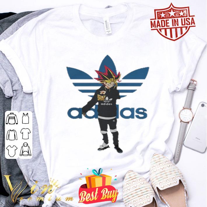 Yugioh adidas Yami Yugi shirt