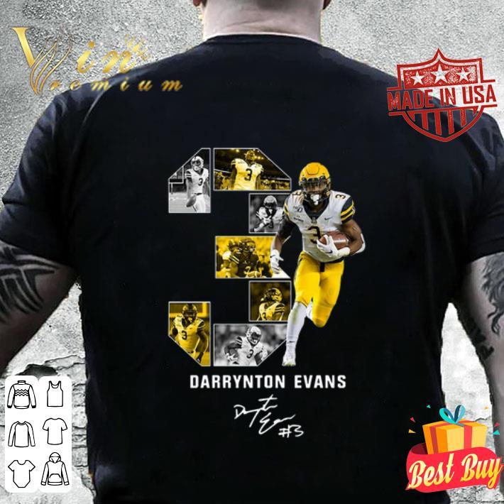 03 Darrynton Evans Signature Appalachian State Mountaineers shirt