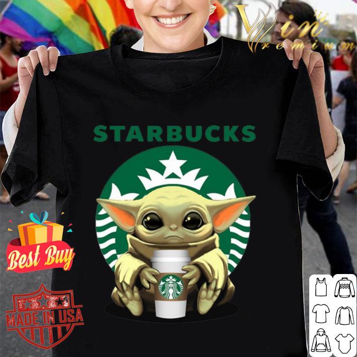 Baby Starbucks Baby Yoda shirt