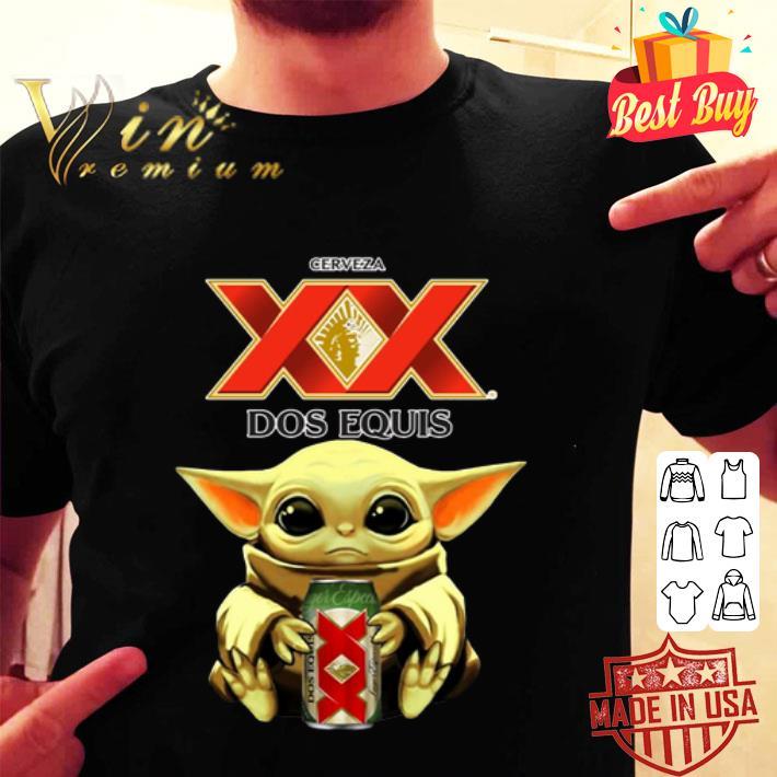 Baby Yoda Hug Dos Equis Beer Star Wars shirt