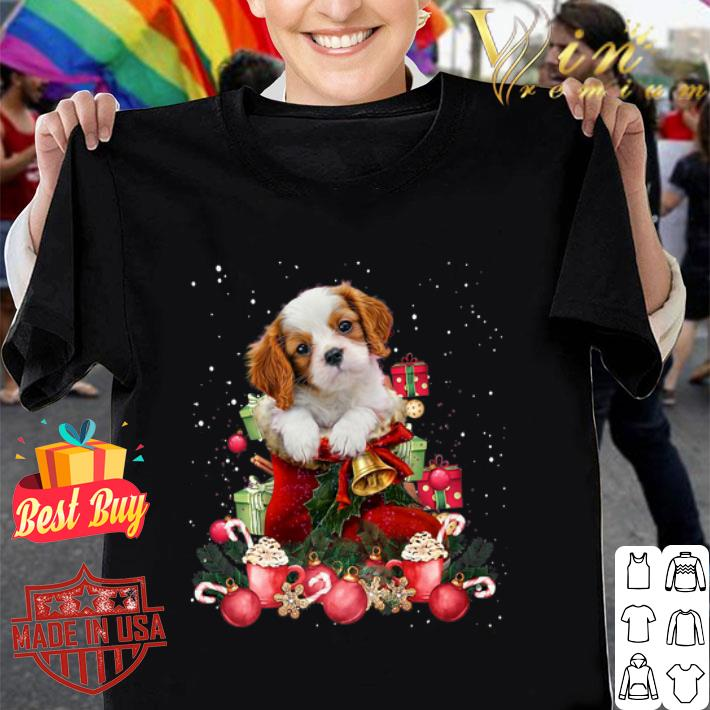 Cavalier King Charles Spaniel Gift Christmas shirt