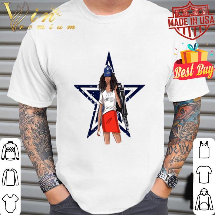 Dallas Cowboys girl fan shirt