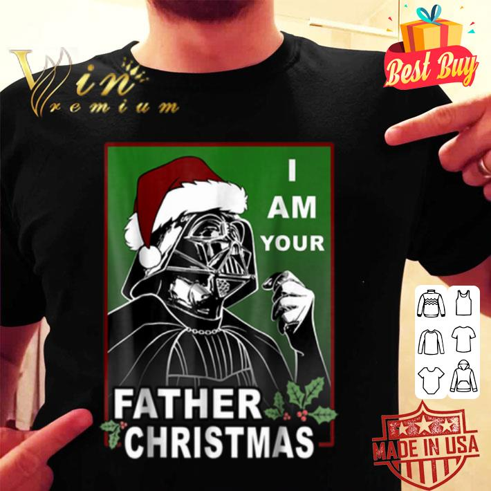 Darth Vader i am your father Christmas Star wars shirt