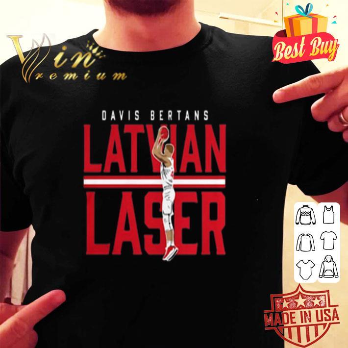 Davis Bertans Latvian Laser shirt