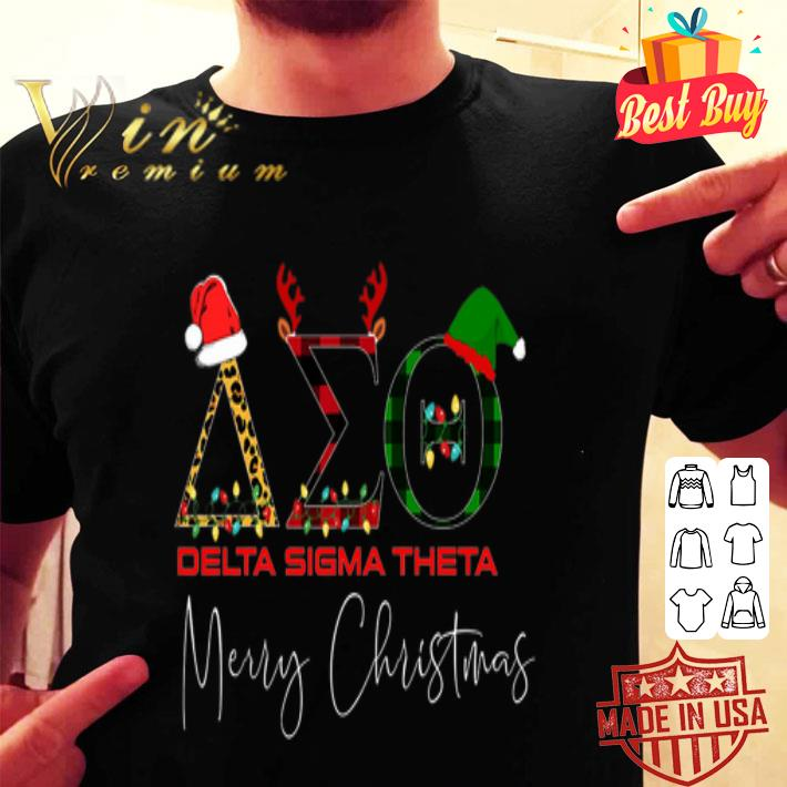 Delta Sigma Theta Merry Christmas shirt