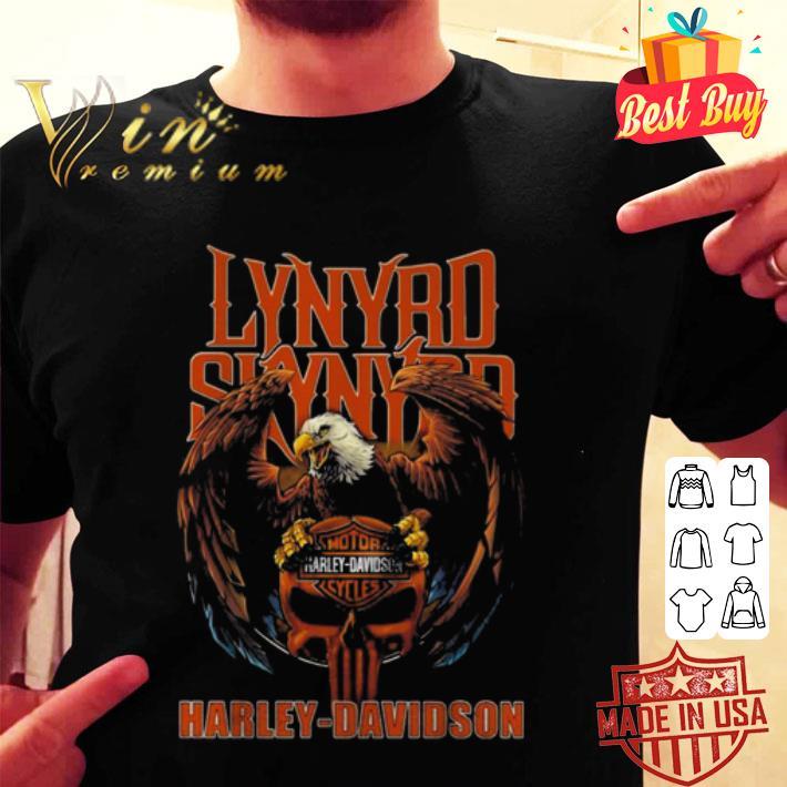 Eagle Lynyrd Skynyrd Harley Davidson shirt