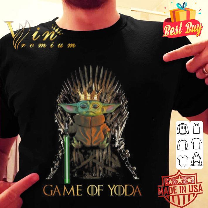 Game Of Thrones Game Of Yoda shirt
