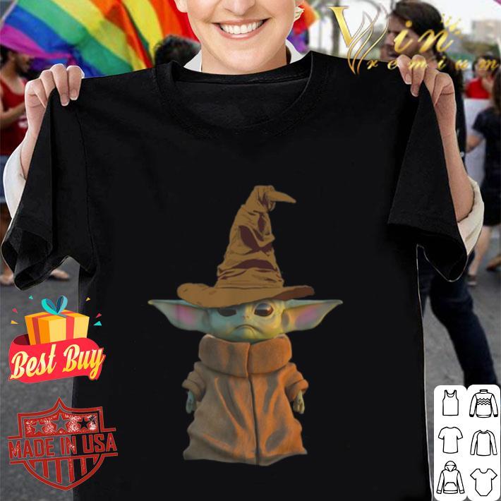 Harry Potter Star Wars Harry Yoda Baby Yoda shirt