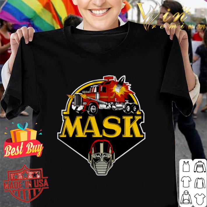 Logo M.A.S.K. Mobile Armored Strike Kommand Truck shirt