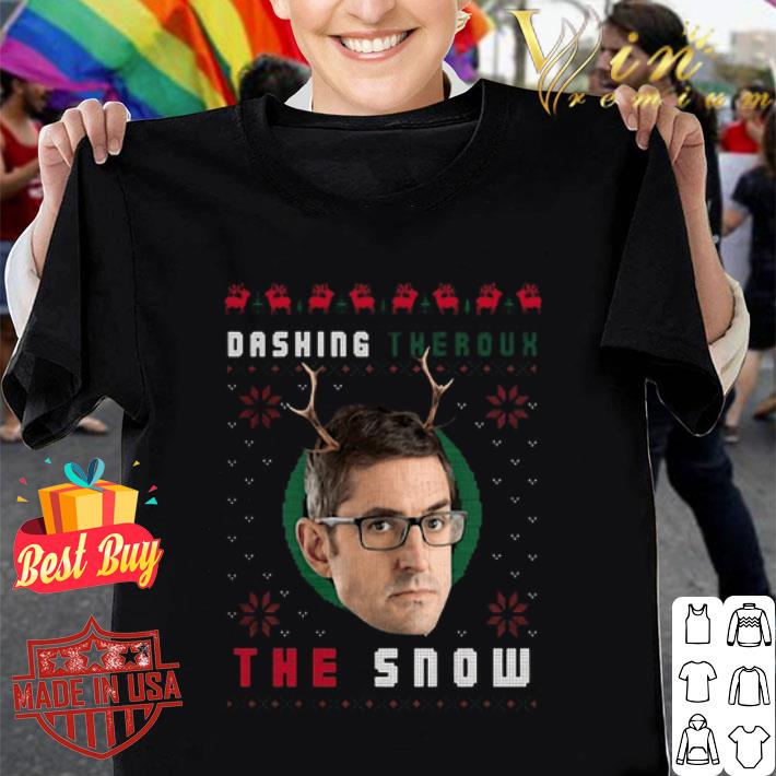 Louis Theroux Dashing Theroux The Snow Ugly Christmas sweater