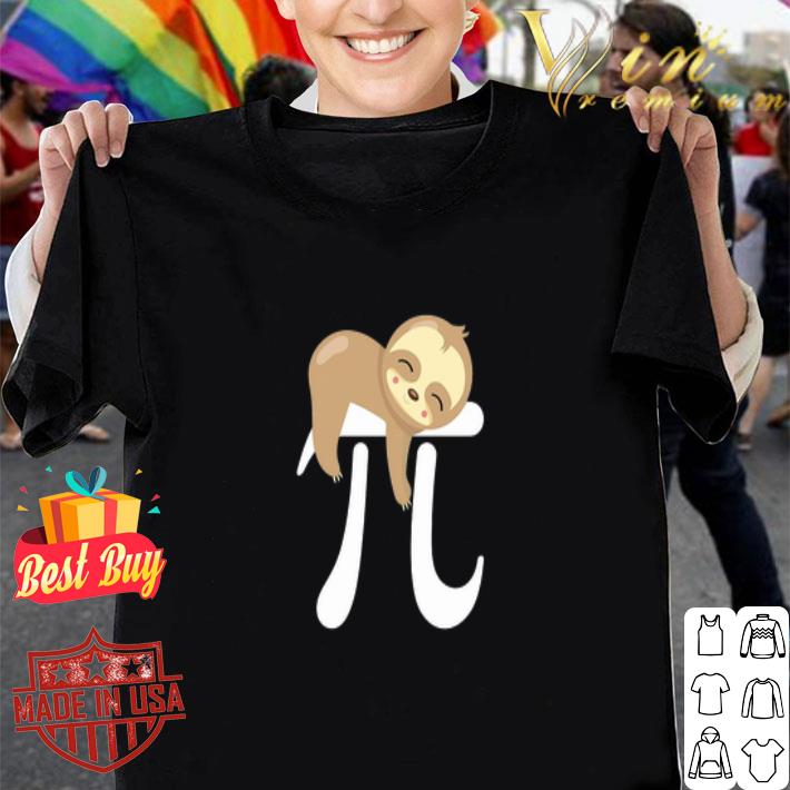 MATH Sloth Pi Day shirt