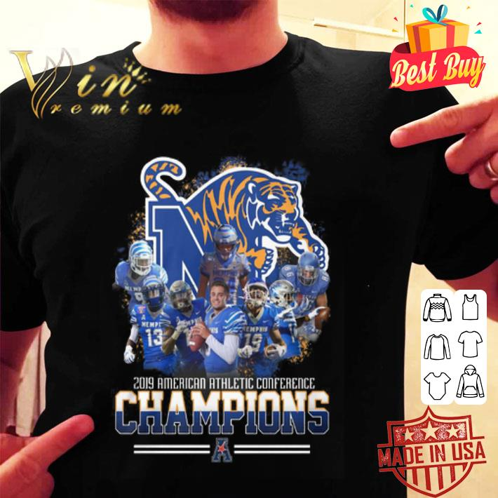 Memphis Tigers 2019 American Athletic Conference Champions shirt