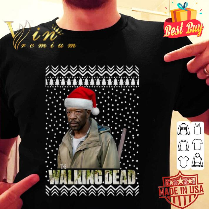 Morgan The Walking Dead ugly Christmas sweater