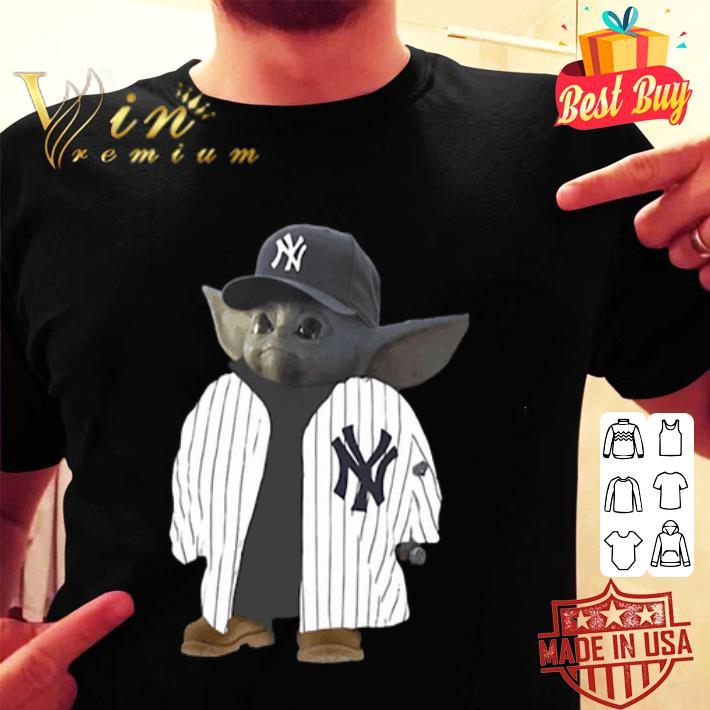 New York Yankees Baby Yoda shirt