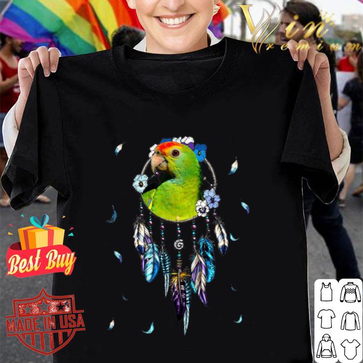 Parrot Dreamcatchers Rings Native American shirt