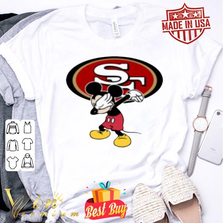 San Francisco 49ers Dabbing Mickey shirt