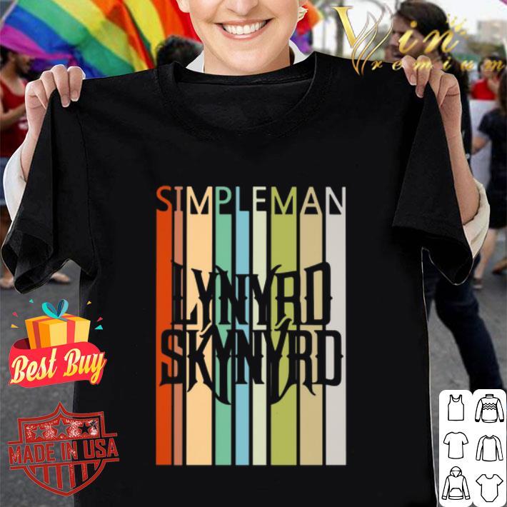 Simple Man Lynyrd Skynyrd Vintage shirt