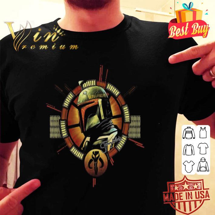 The Mandalorian logo Star Wars shirt