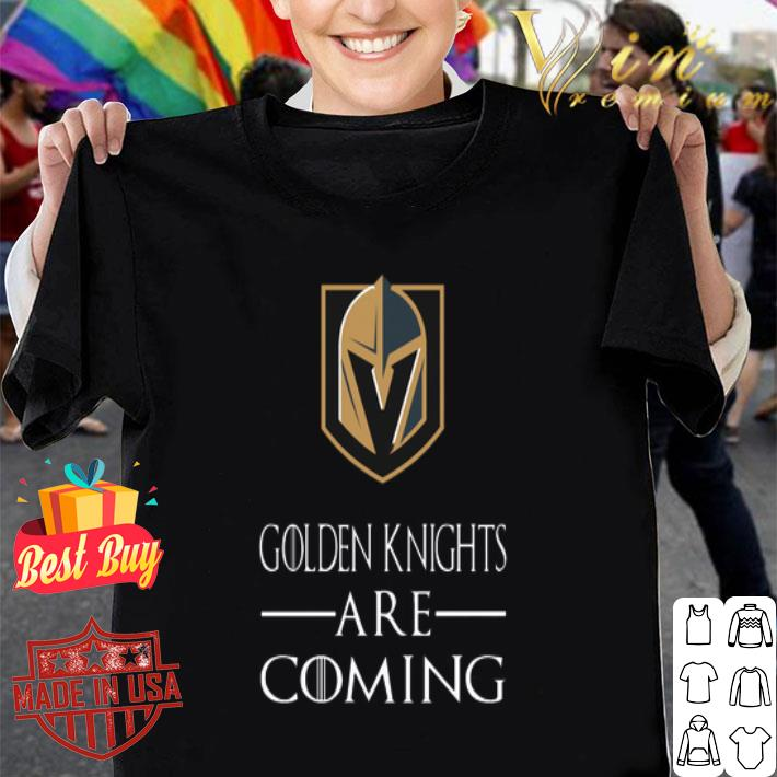 Vegas Golden Knights Are Coming GOT shirt