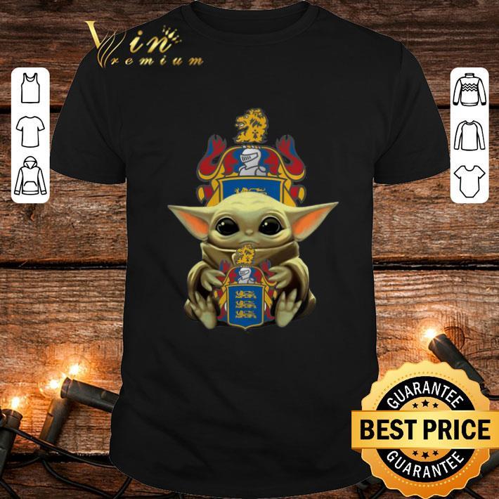 Baby Yoda hug C.R. England Inc. Star Wars shirt