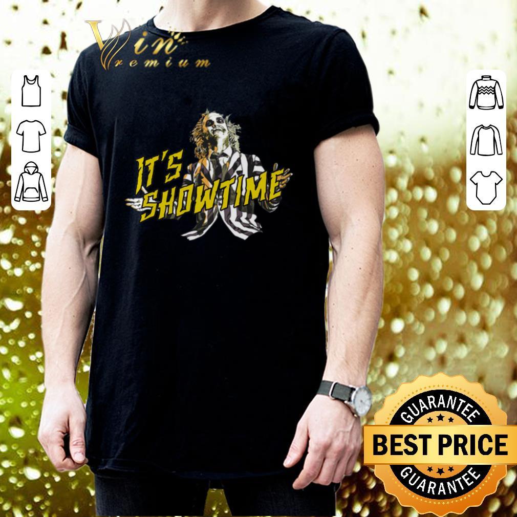 Beetlejuice It's Showtime shirt 3