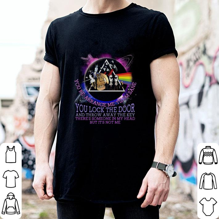 Brain Damage lyrics Pink Floyd you lock the door and throw away shirt