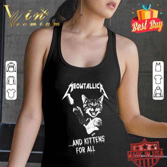 Cat Meowtallica and kittens for all Metallica shirt