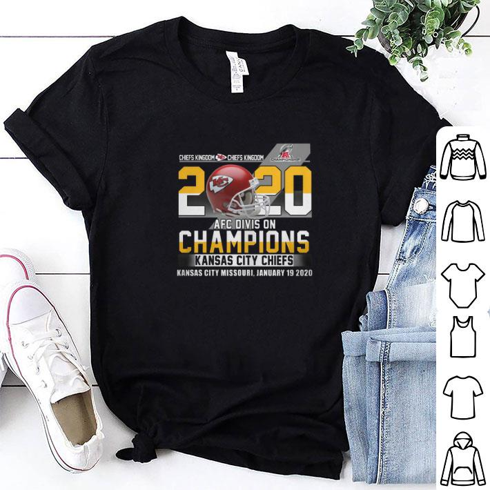 Chiefs Kingdom Championship 2020 AFC Division Kansas City Chiefs shirt