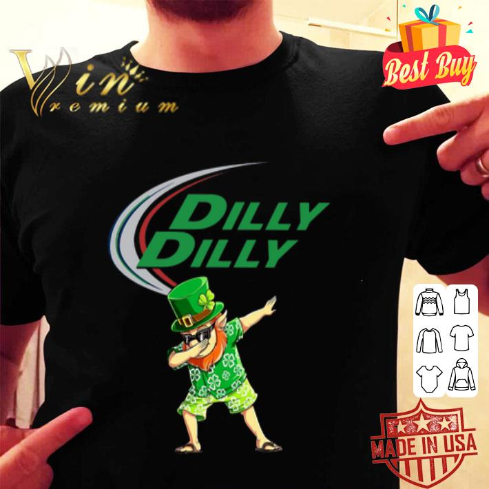 Dabbing Leprechaun Dilly Dilly St Patrick's Day 2020.png