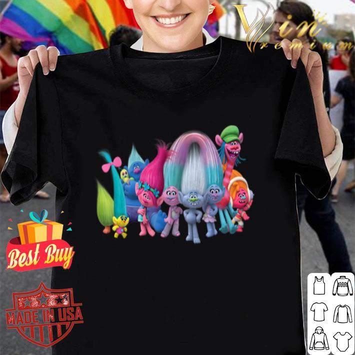 Dreamworks Trolls All Troll Friends shirt