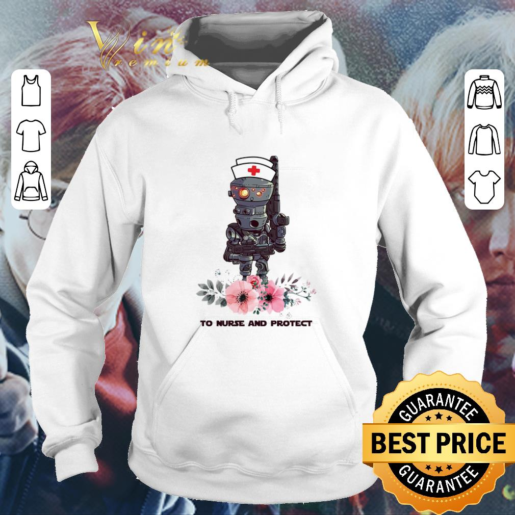 Flowers IG-11 To Nurse And Protect Star Wars Mandalorian shirt