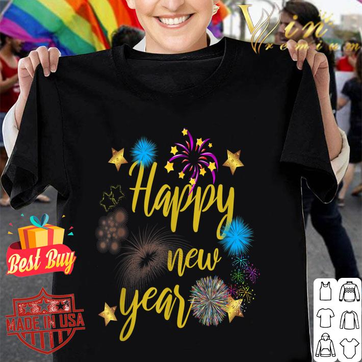 Happy New Year 2020 Fireworks shirt