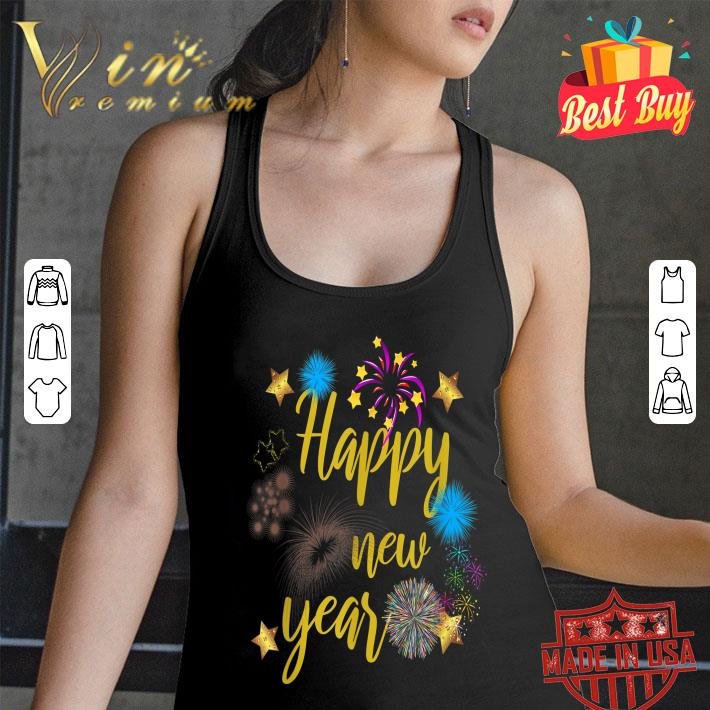 Happy New Year 2020 Fireworks shirt